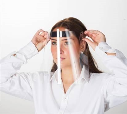 Gesichtsschutz-Visier